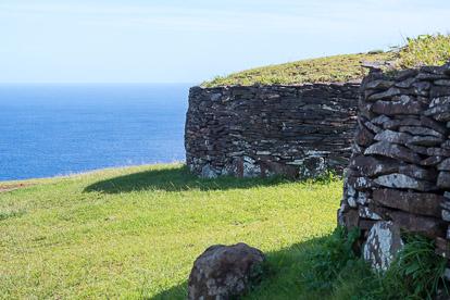 île de Pâques : Orongo