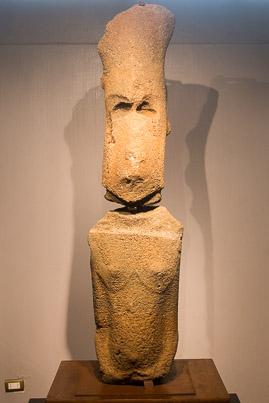 île de Pâques : le moai féminin