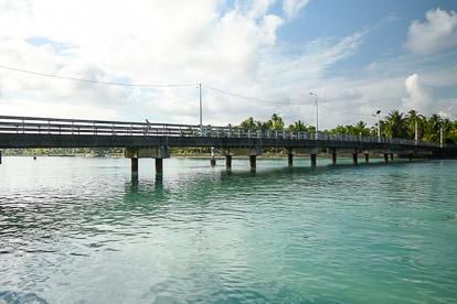 Mataiva : le pont