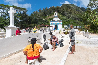 Photographies de Polynésie: les Gambier