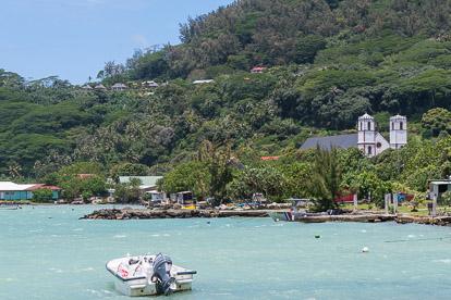 Voyage aux Gambier : Rikitea sur l'île de Mangareva