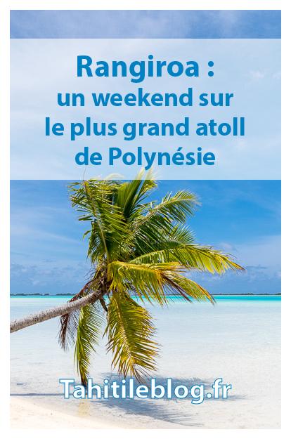 Weekend en famille à Rangiroa en Polynésie: snorkeling et plongée avec les dauphins, excursions au lagon bleu et à l'île aux récifs, hébergement.