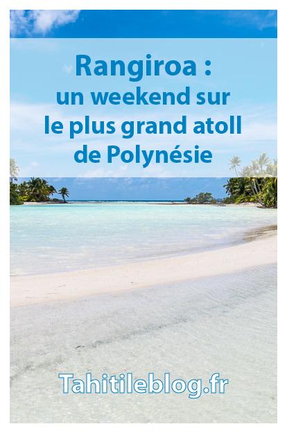 Weekend en famille à Rangiroa en Polynésie: snorkeling et plongée avec les dauphins, excursions au lagon bleu et à l'île aux récifs, hébergement