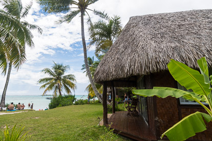 Moorea : hôtel les Tipaniers