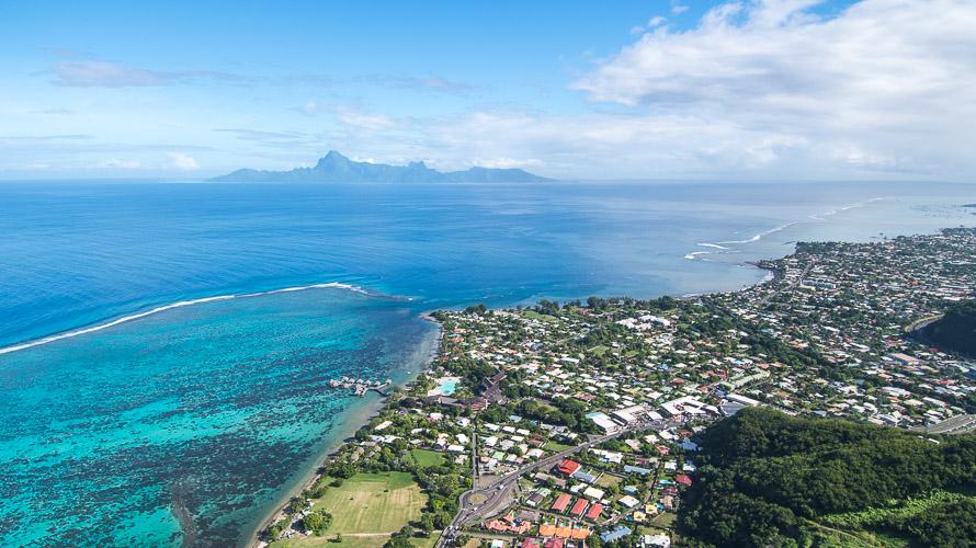 Vol en Hélicoptère à Tahiti