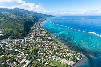 Vol en Hélicoptère à Tahiti: montagne et lagon