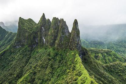 Hélicoptère à Tahiti: le diadème
