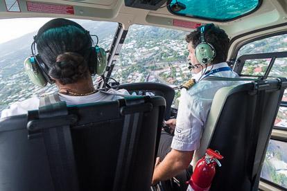 Tahiti Nui Helicopters: le pilote