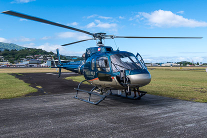 Tahiti Nui Helicopters: l'hélicoptère
